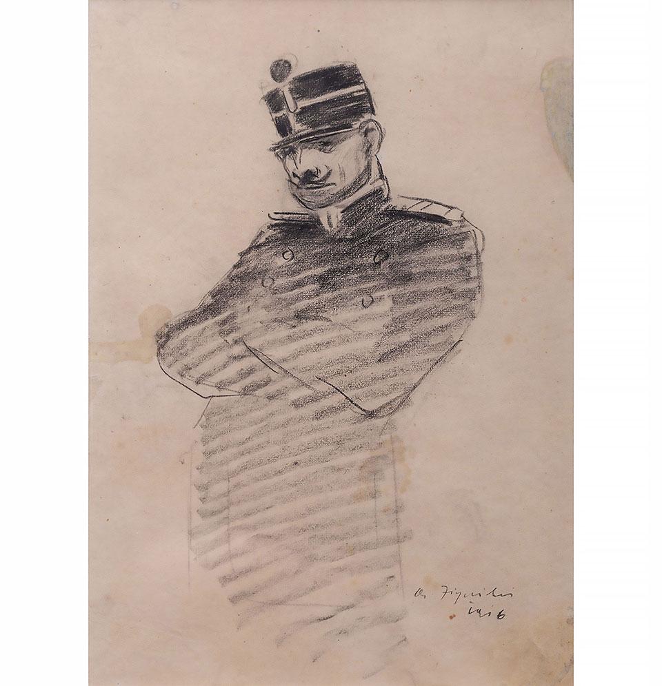 OFIȚER, Aurel Jiquidi (1916)